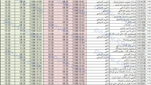تغییر تاریخ و ساعت امتحانات پیام نور